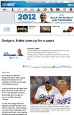 2011 July - Fox Sports West