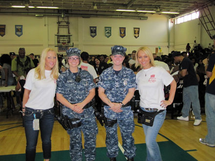USO INTERNATIONAL TOUR PHOTOS