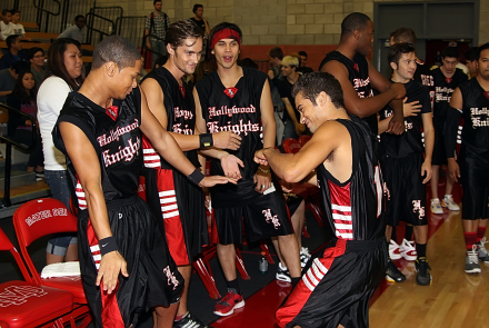 Celebrity Basketball Team vs. the The Mater Dei High School Monarchs Faculty