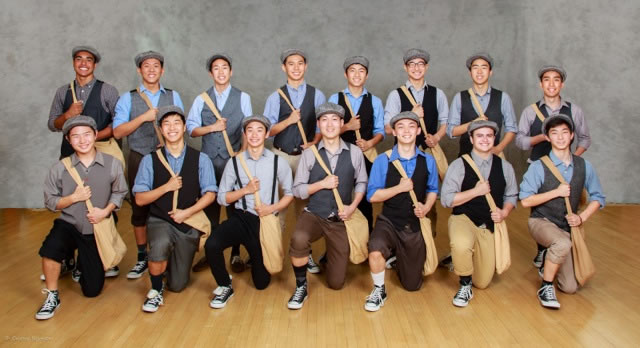 DBHS all-male dance team