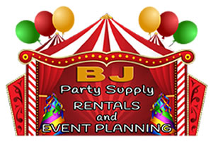BJ Party Supply logo