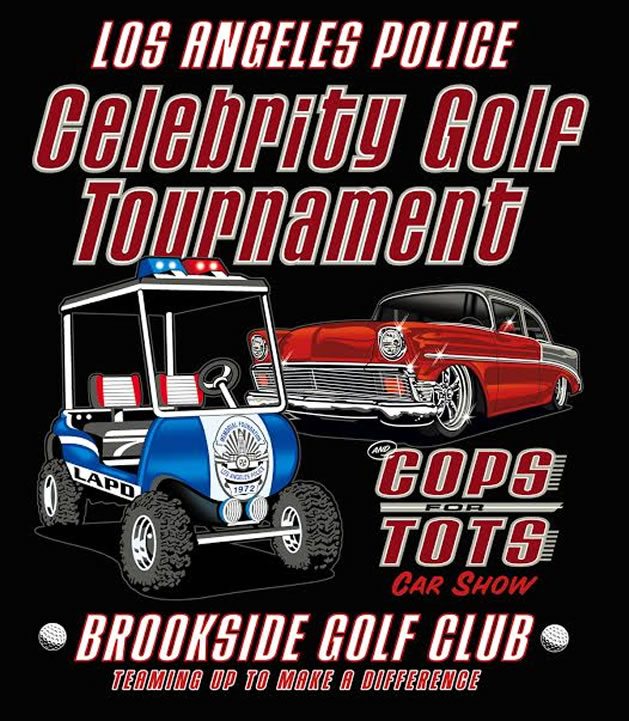 LAPD Golf event flyer
