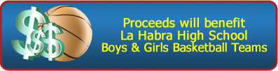 proceeds benefit La Habra High
